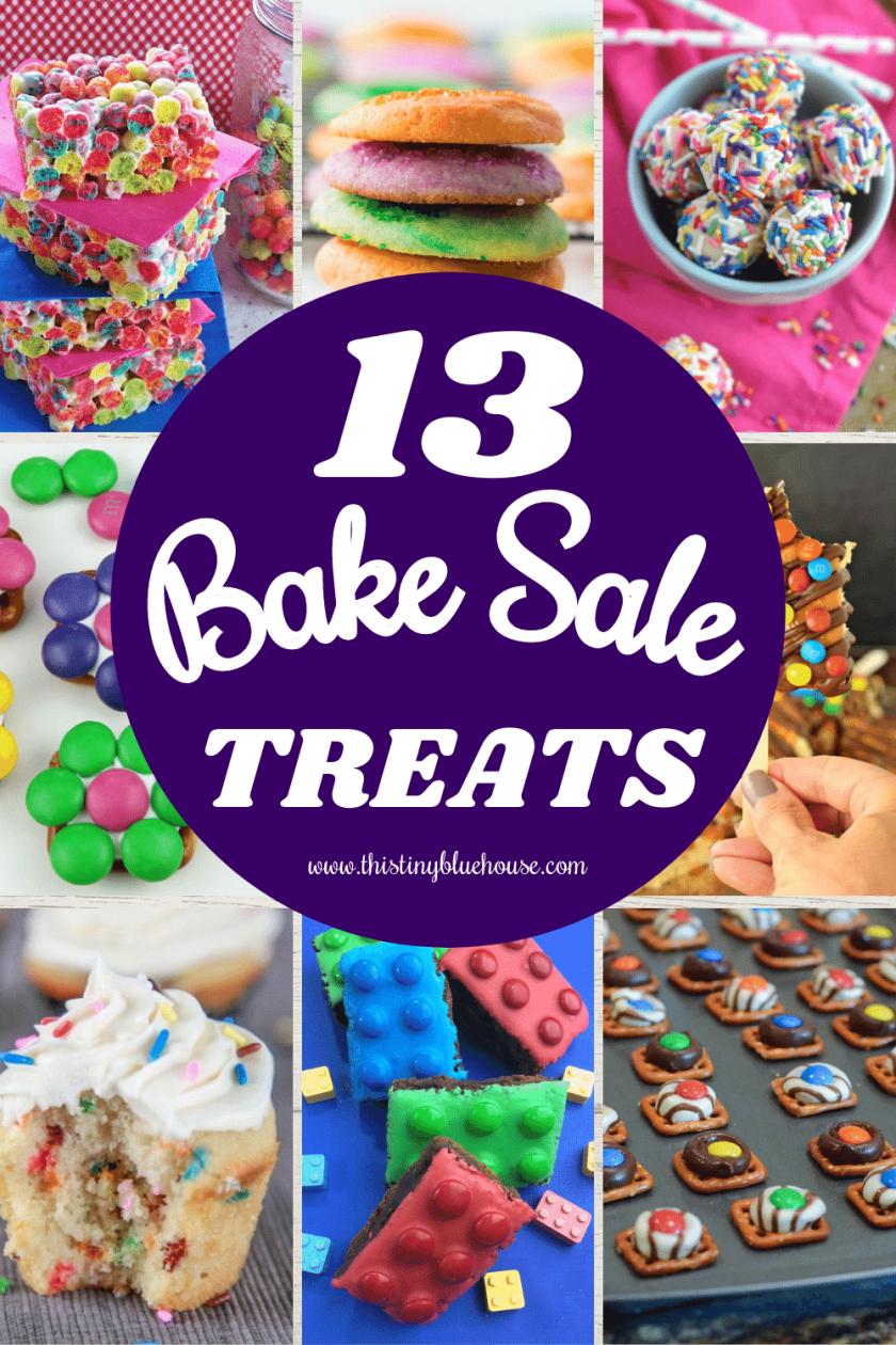 13 Quick & Easy Bake Sale Treat Recipe Ideas