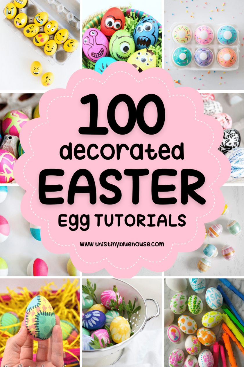 Make Easter extra special this year by decorating your home with one or many of these gorgeous best creative painted Easter egg tutorials. These creative painted Easter egg tutorials are a the perfect way to decorate for Easter.