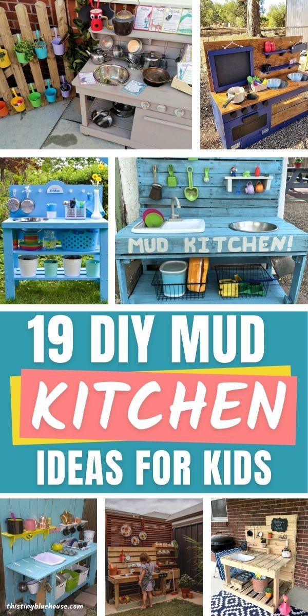 19 DIY Mud Kitchen Ideas For Kids