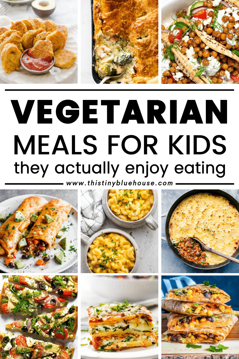 Vegetarian Meals For Kids They Actually Enjoy Eating