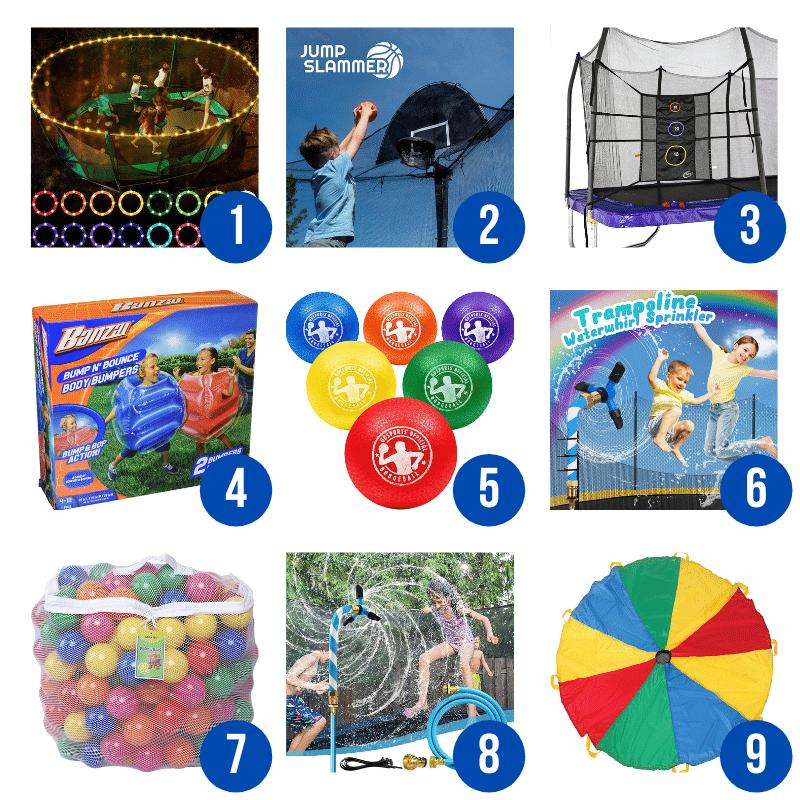 best trampoline accessories for kids