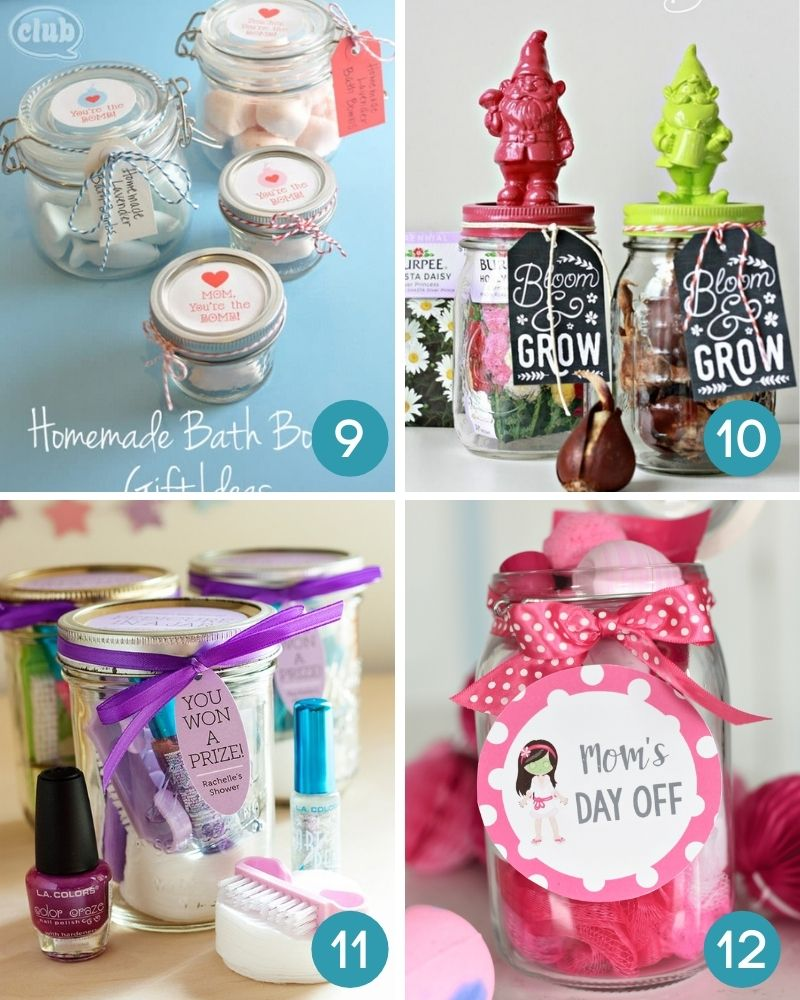Mother's Day Gifts In A Jar The Ultimate Collection of DIY Gift Ideas For Mom & Grandma