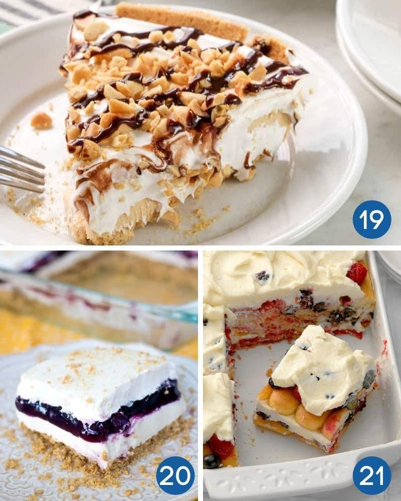 no bake summer dessert recipes