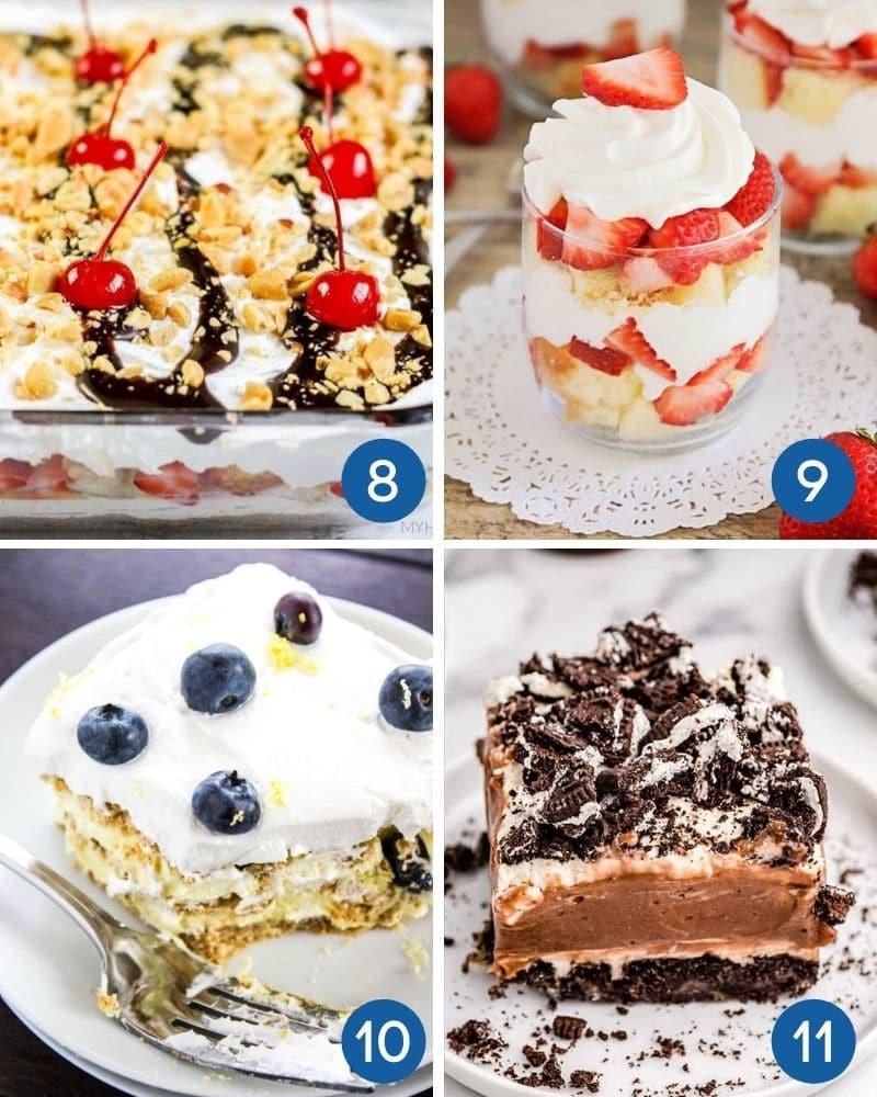 easy no bake summer desserts