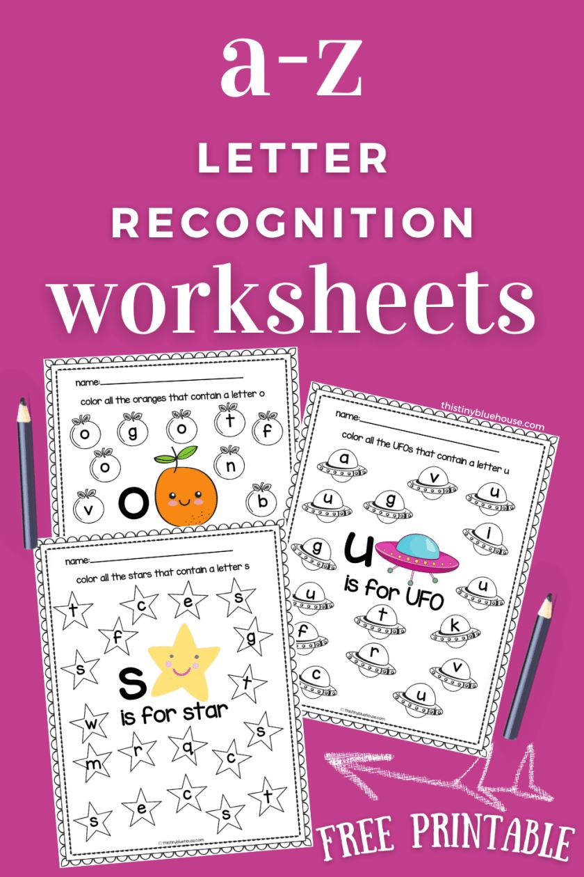 alphabet worksheet printables