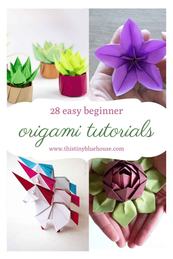 step by step origami tutorials for beginners