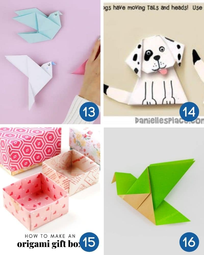 easy origami with instructions