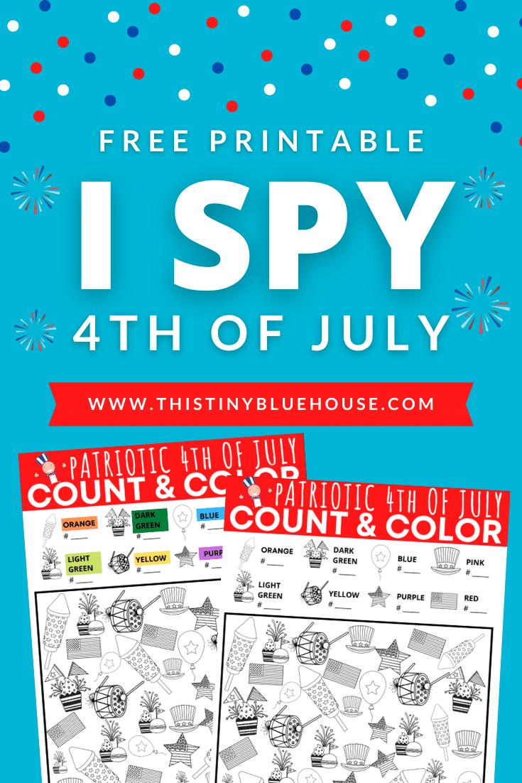 I Spy 4th Of July