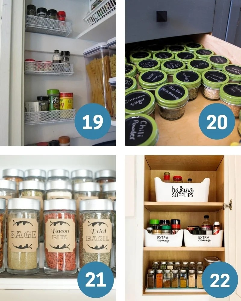 dollar tree pantry organization for spices