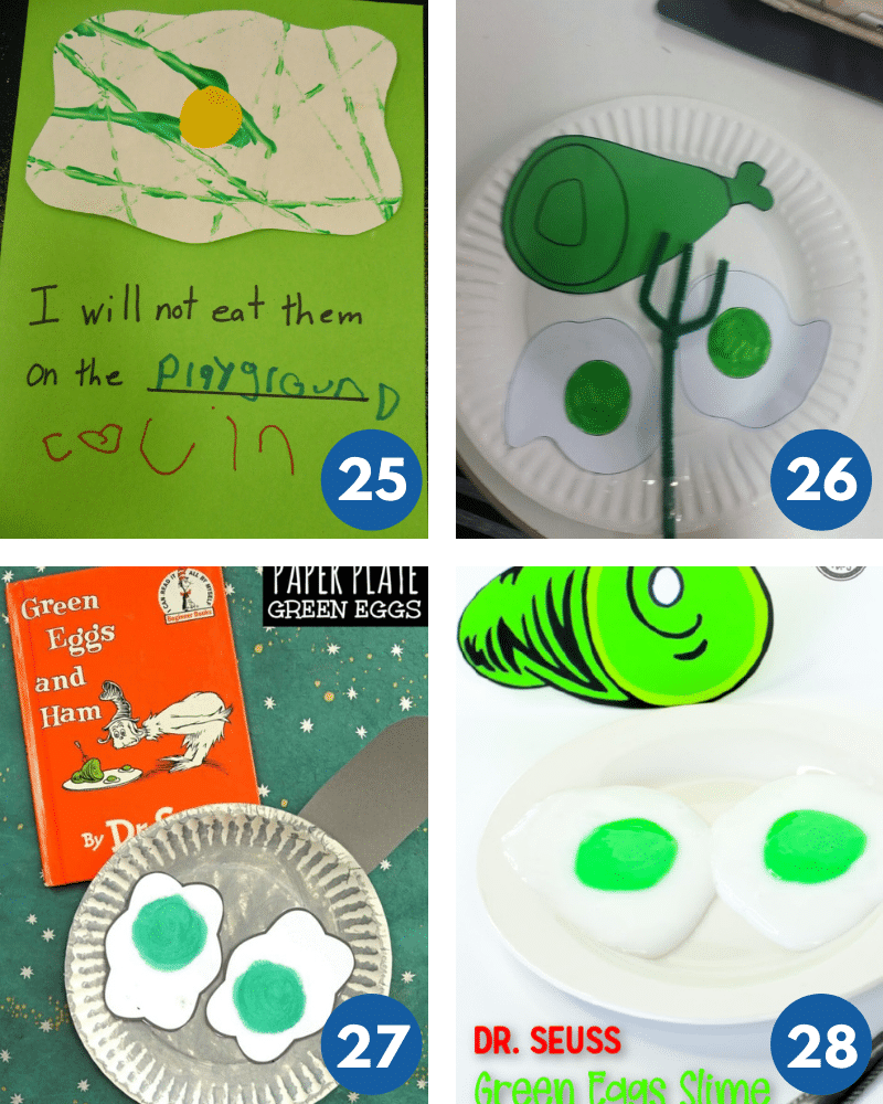 crafts inspired by Dr Seuss