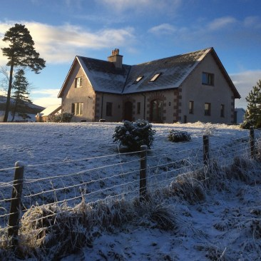 Thistle Dhu B&B, Glenlivet at Christmas