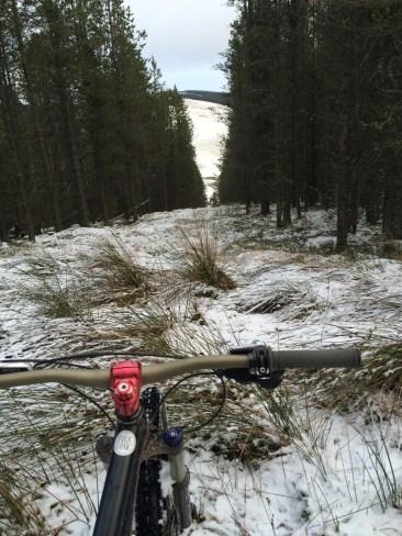 Snowlain trails