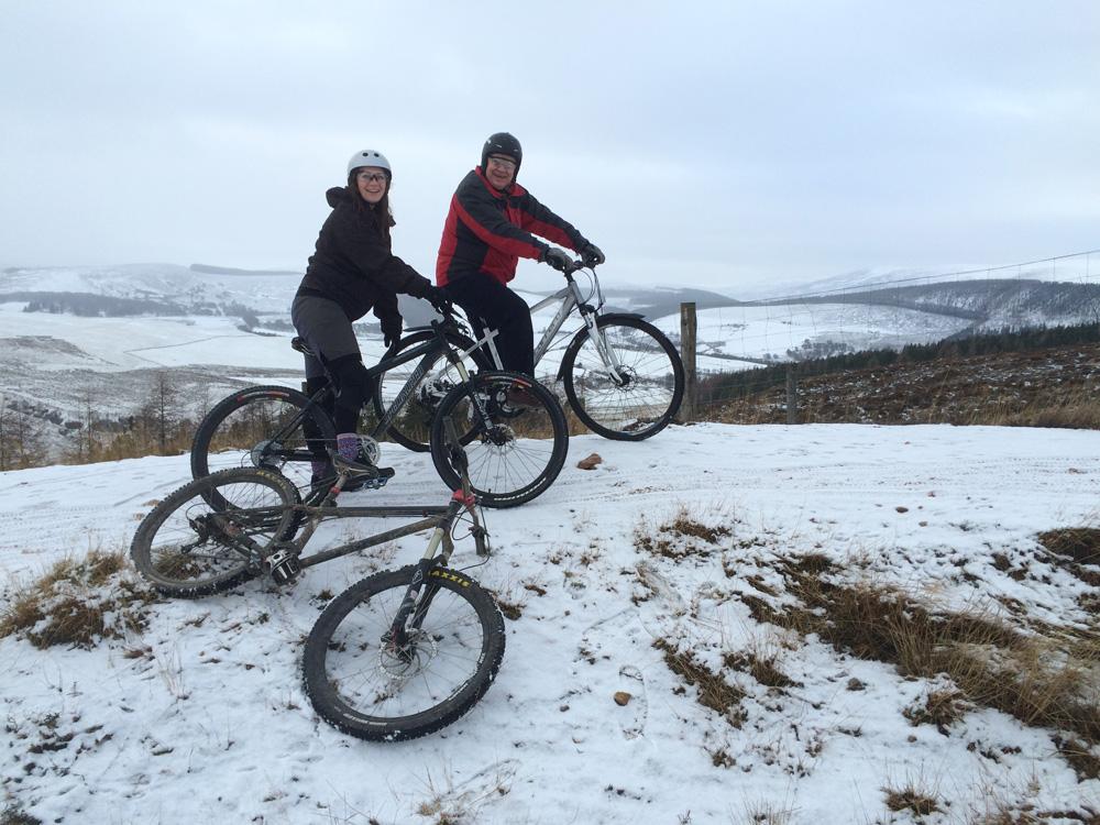 Glenlivet Trails, late December