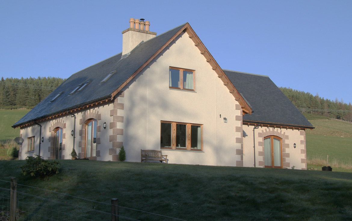 Our lovely B&B in the Scottish Highlands