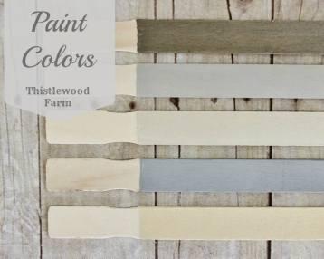 Paint Colors Thistlewood