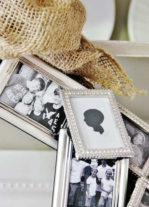 wreath with pictures