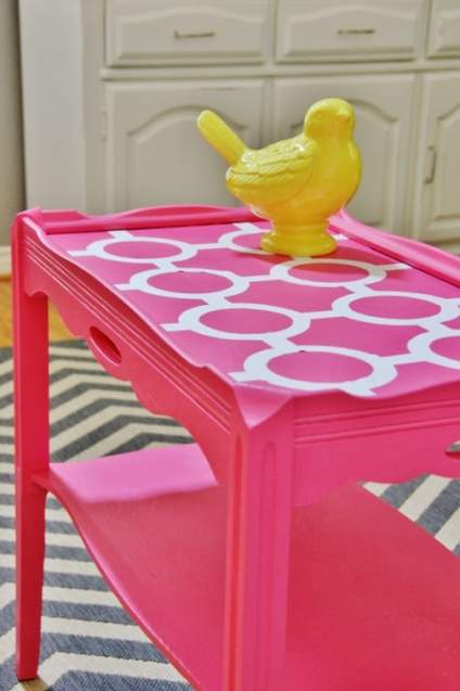 DIY-side-table-decorating-project