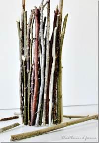 Wood Stick Vase - Thistlewood Farm