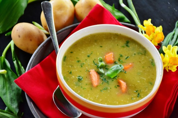 vegetarian meal soup
