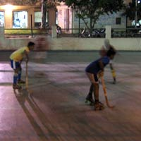 Indian Roller Hockey Players