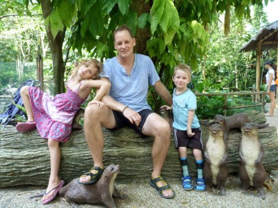 Singapore zoo. From the Wood's trip to Singapore in 2014