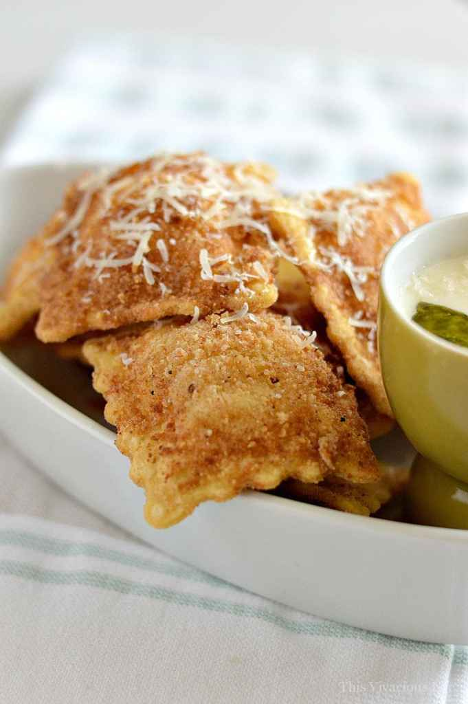 These gluten-free fried ravioli are sure to be your new favorite appetizer to serve up to friends and family.
