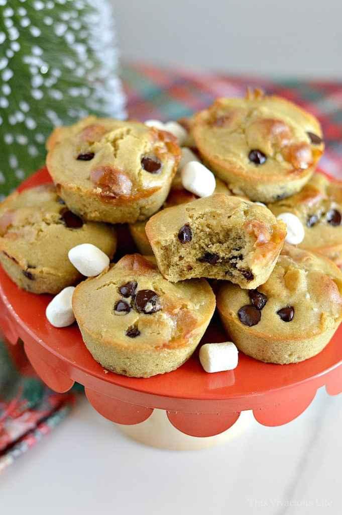 Gluten-Free Hot Cocoa Cupcakes | gluten-free cupcake recipes | gluten-free dessert recipes | easy gluten-free desserts | hot cocoa inspired desserts || This Vivacious Life #glutenfreecupcakes #glutenfreedessert #hotcocoacake