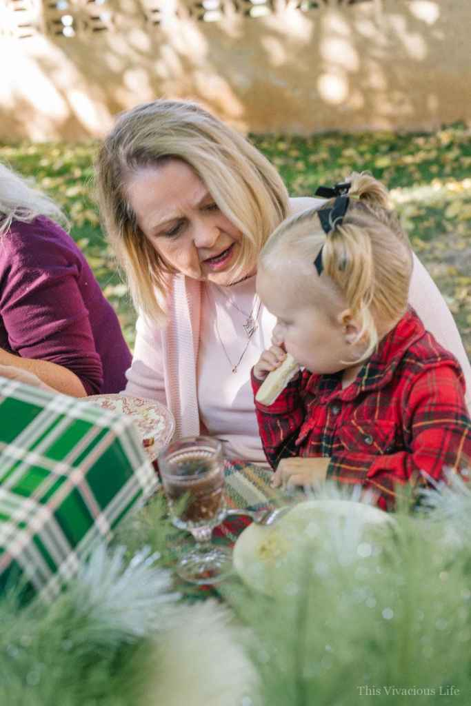 Sleigh Ride Brunch and Blackberry Rosemary Mocktail | holiday brunch ideas | hosting a holiday brunch | holiday party ideas || This Vivacious Life #holidaybrunch #holidayparty #brunchideas