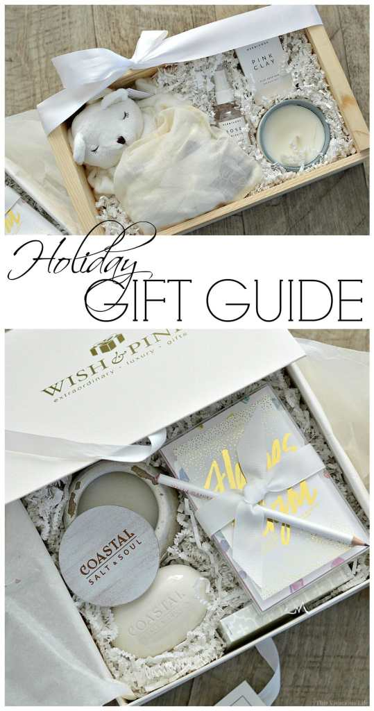 I wanted to put together a holiday gift guide with some of my favorite things that I have enjoyed giving and receiving. | holiday gift guide | gift ideas for the holiday | gift guide for new moms || This Vivacious Life #giftguide #newmomgiftguide #giftsfornewmoms