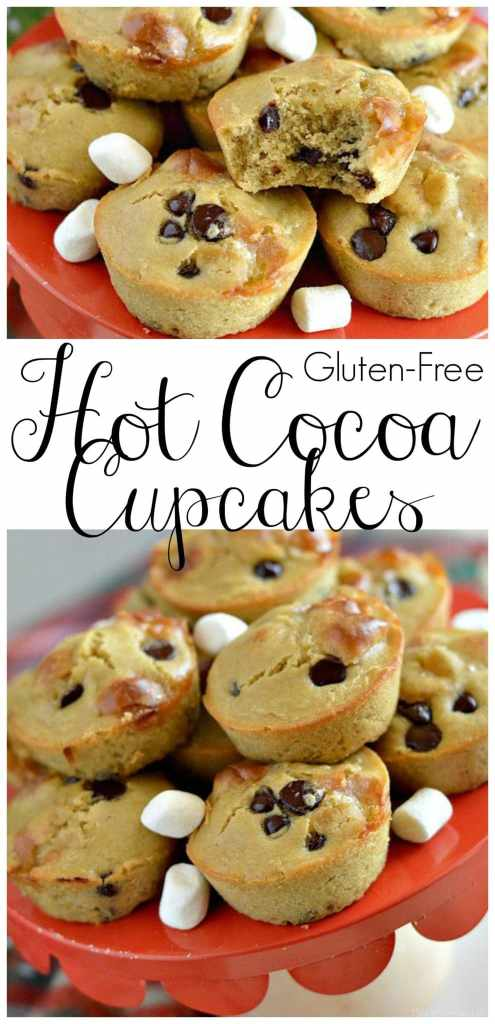 These gluten-free hot cocoa cupcakes and holiday crafting party are so fun and festive! Your girlfriends are sure to love this fun get together.