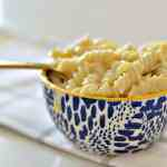 Instant pot gluten-free mac and cheese is a creamy, hearty dish the whole family will love. It literally takes under 10 minutes and the kids will love it! You can mix in ham, beef or even bacon for an extra filling dish.