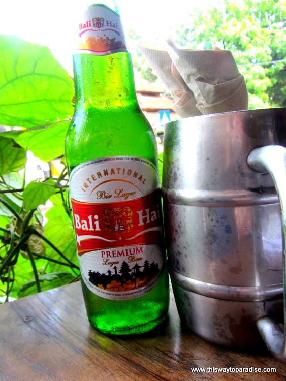 Bali Hai Beer in Kuta, Bali