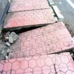 Ubud sidewalks