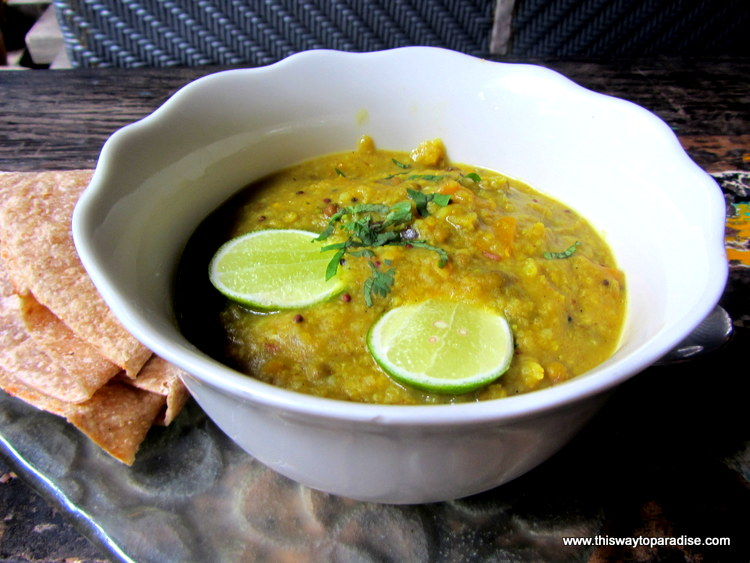Lentil Soup from Clear Cafe Ubud, Bali
