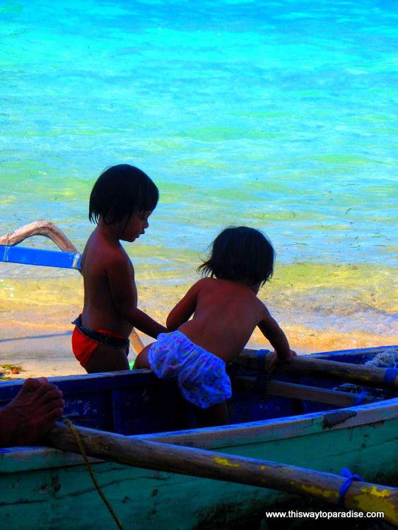 Gili Children At Play, Gili Air, Gili Islands