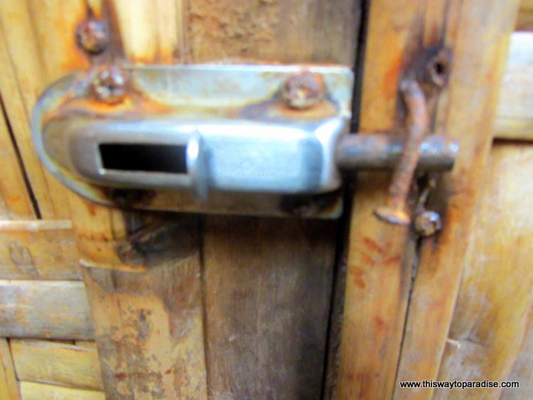 Door Locks on Gili Air, Gili Trawangan