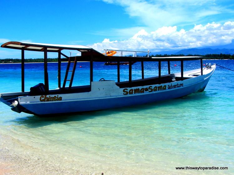 Gili Trawangan Boat