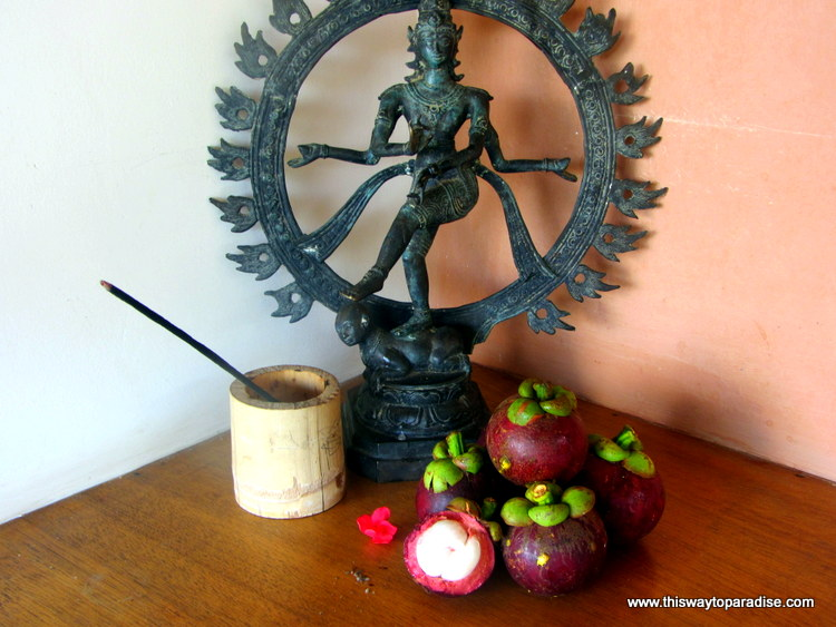 Mangosteen in Bali