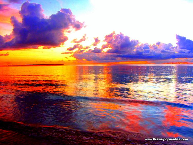 Kei Islands Sunset, Maluku, Indonesia
