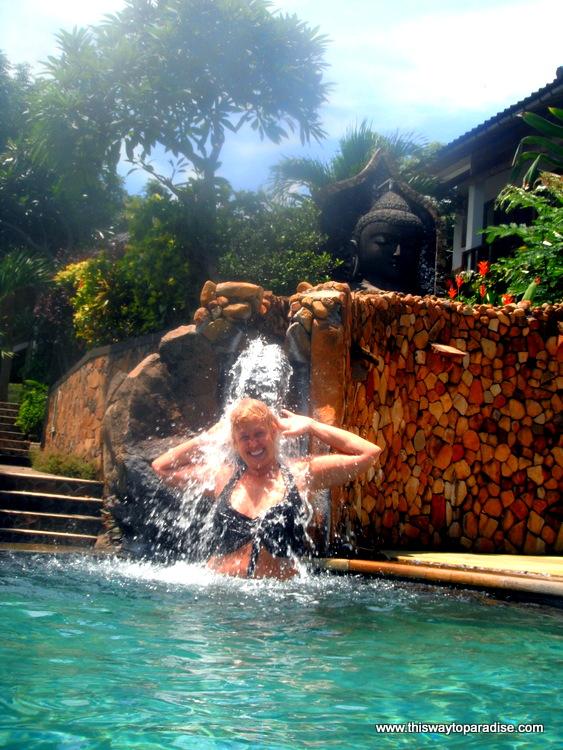 Pool at Bedulu Resort, Amed