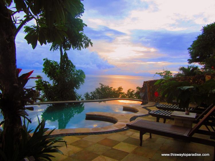 Sunset at Bedulu Resort, Amed, Bali