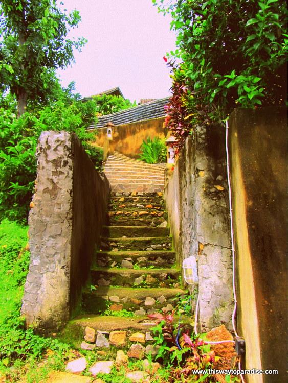 Stairway at Bedulu Resort, Amed, Bali