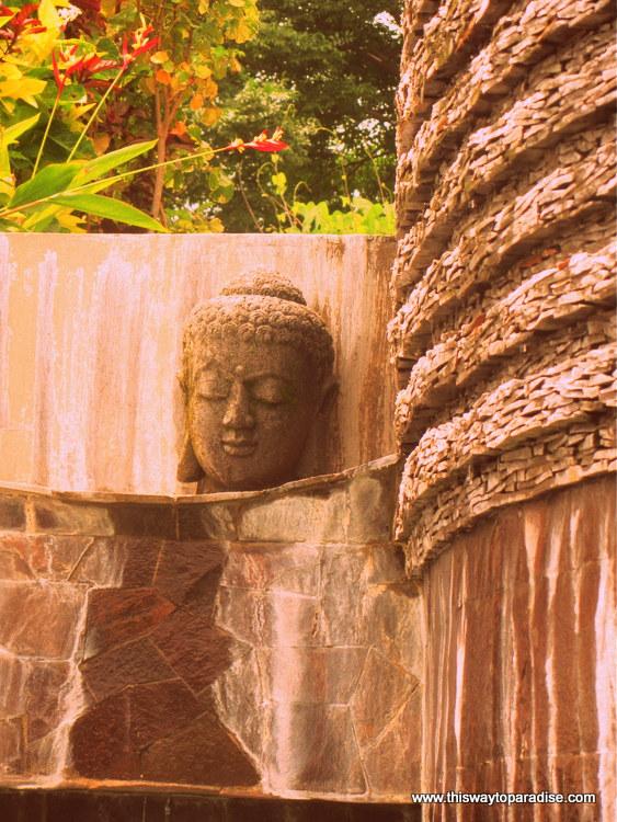 Buddha at Bedulu Resort, Amed, Bali