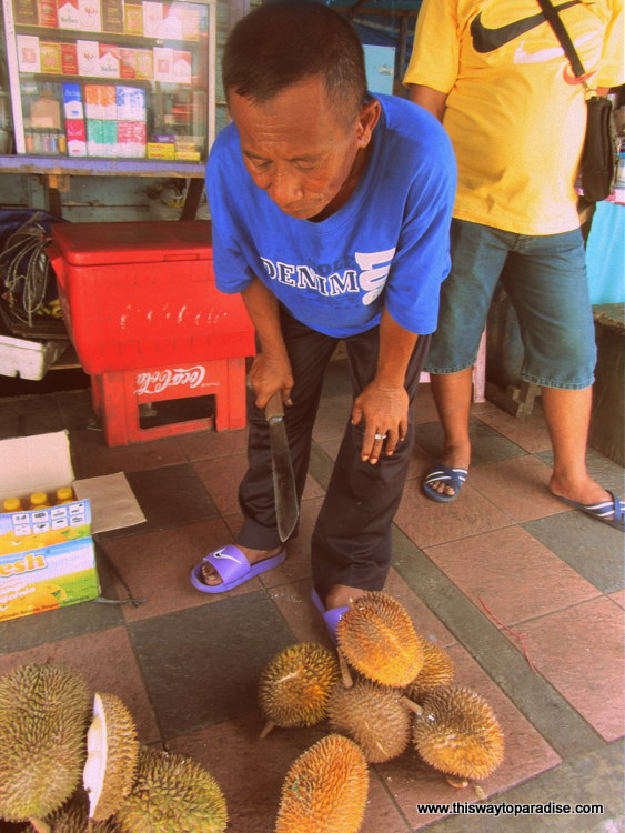 Durian in Ambon
