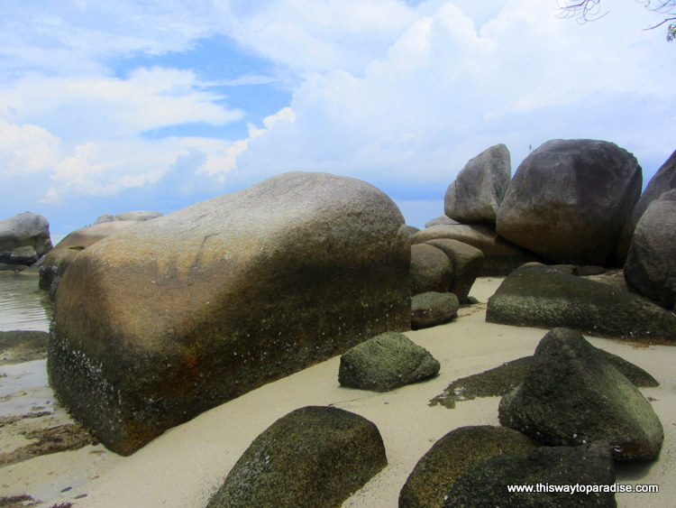 Tanjung Tinggi Beach, Belitung, Best Beach in the world