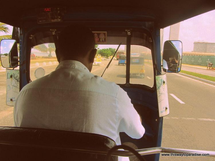 Colombo, Sri Lanka tuk tuk driver