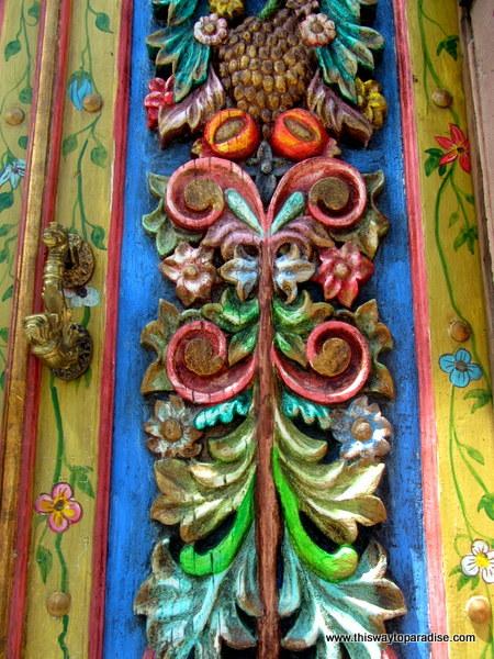 Colorful San Miguel de Allende doorway