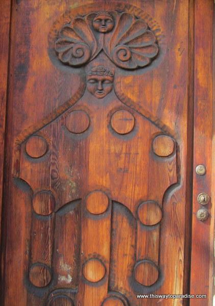 Wooden Doorway of Dreams