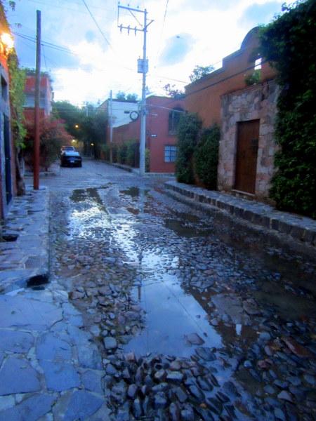 Cobblestones in San Miguel de Allende