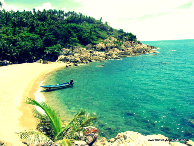 Koh Phangan beach-Winter Holidays